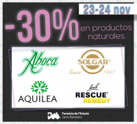 -30% EN PRODUCTOS NATURALES
