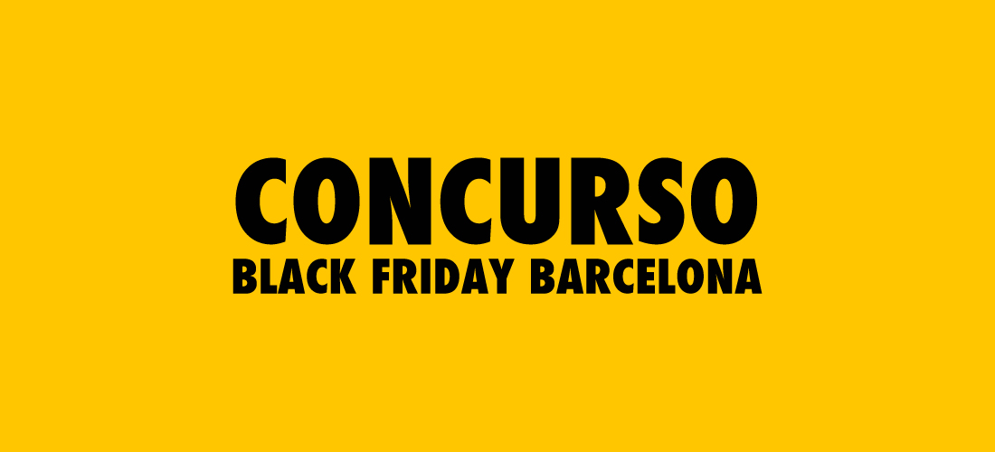 Concurso Black Friday Barcelona 2014